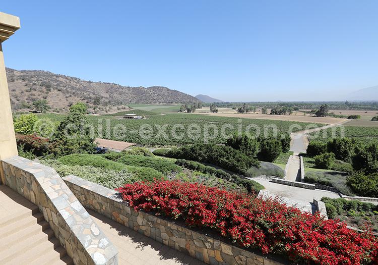 Viña Haras de Pirque, vallée Casablanca, région centre du Chili