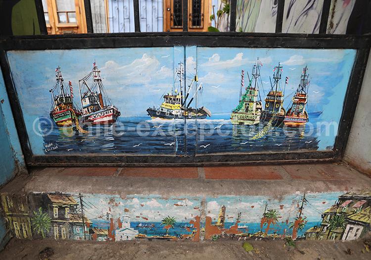 Le street art à Valparaiso