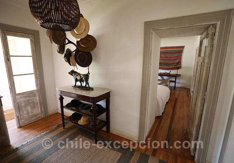 Belle décoration de l'hôtel Casa Bouchon, Chili
