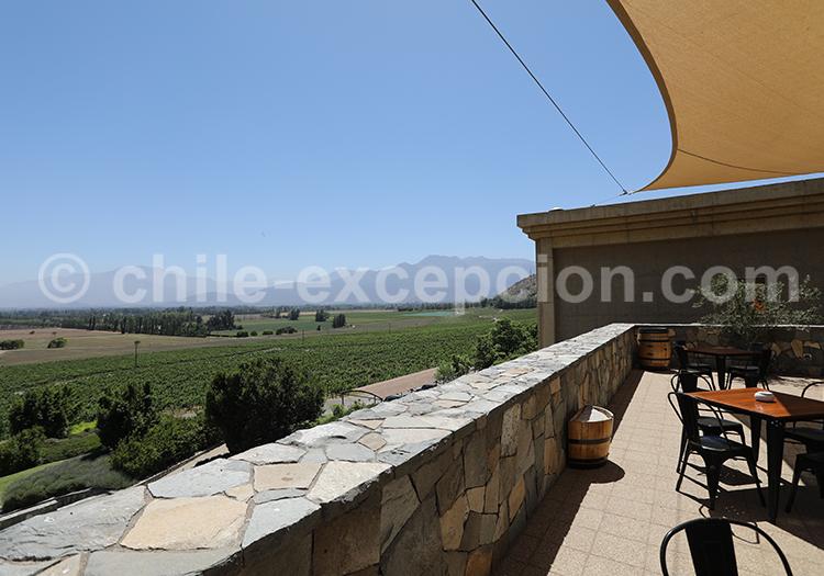 Viña Haras de Pirque, vallée du Maipo, Chili avec l'agence de voyage Chile Excepción