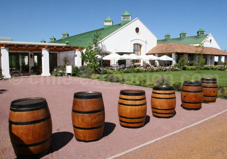 Viña Casas del Bosque, avec l'agence de voyage Chile Excepción
