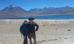 Chantale et Renald à la laguna Miscanti