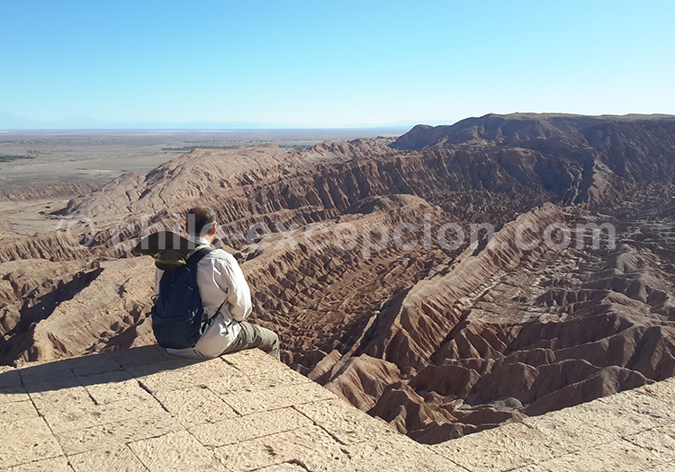 Vallée de La Mort depuis le mirador de Quitor