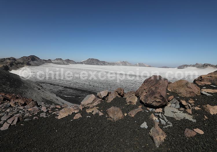 Cratère du volcan Sollipulli, Chili