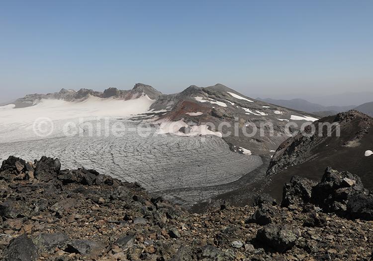 Glaciers et volcans du Chili, Araucanie