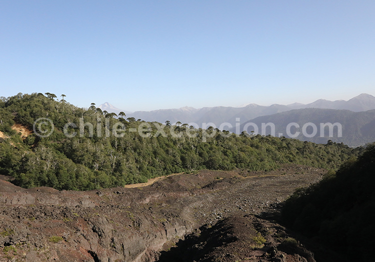 Volcan Sollipulli, Chili
