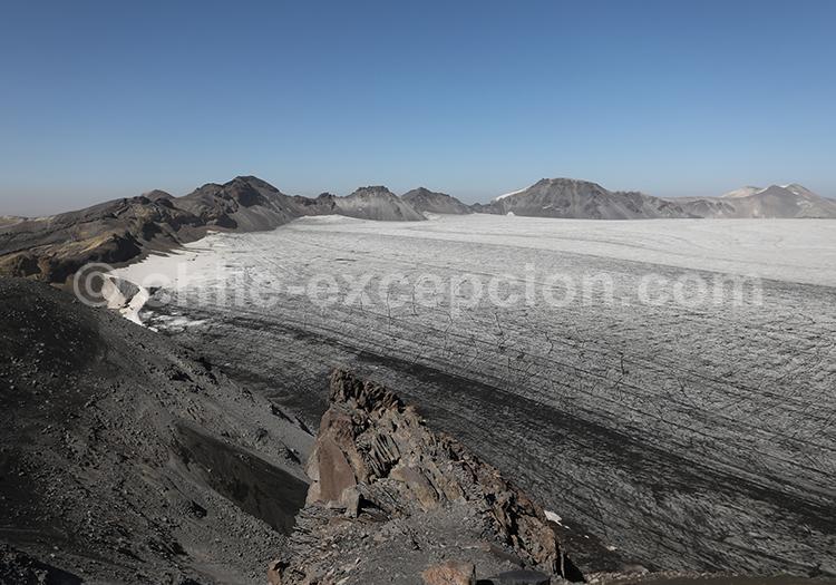 Volcan de subduction, Sollipulli, Chili
