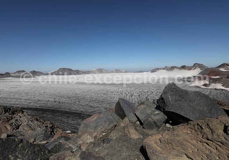 Trekking sur le volcan Sollipulli, Chili