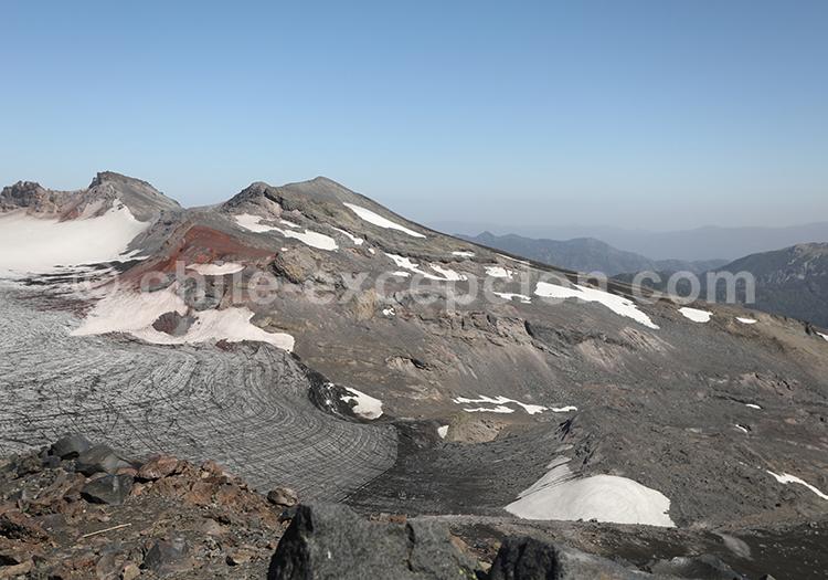 Randonnée sur le volcan Sollipulli, Chili
