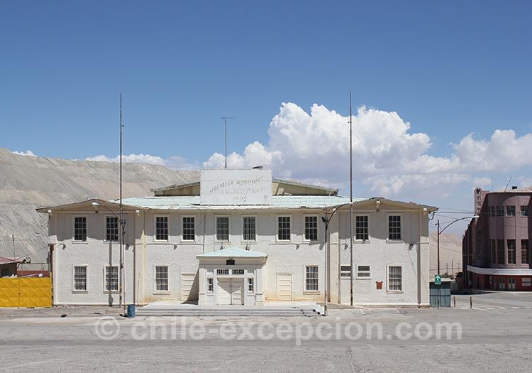 Mine de Chuquicamata, Chili avec l