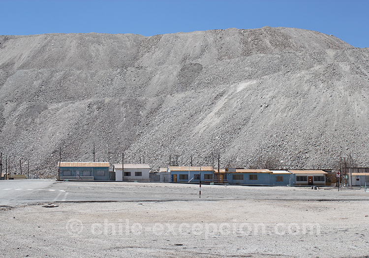 A la découverte de la mine de Chuquicamata, Calama, Chili