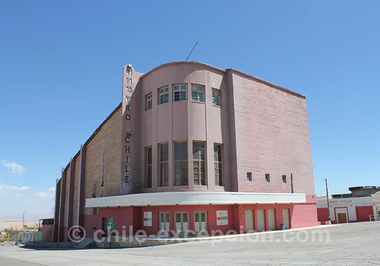 Autour de la mine de Chuquicamata, Chili
