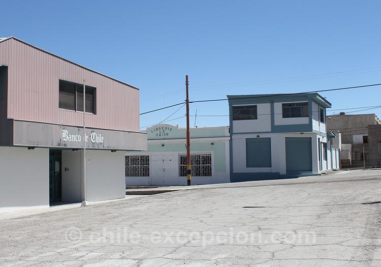 Désert et altiplano du Chili, mine de Chuquicamata