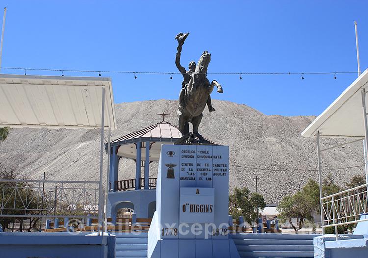 Statue de la mine de Chuquicamata, Chili