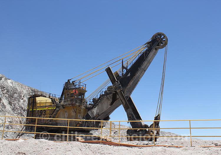 Plus grande mine de cuivre à ciel ouvert du monde, Chuquicamata, Chili