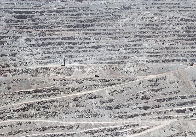 Voyage dans le Nord du Chili, mine de Chuquicamata, Calama
