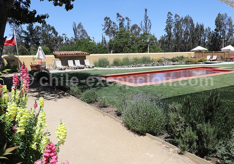 Extérieurs de l'hôtel BCW Casablanca, Chili