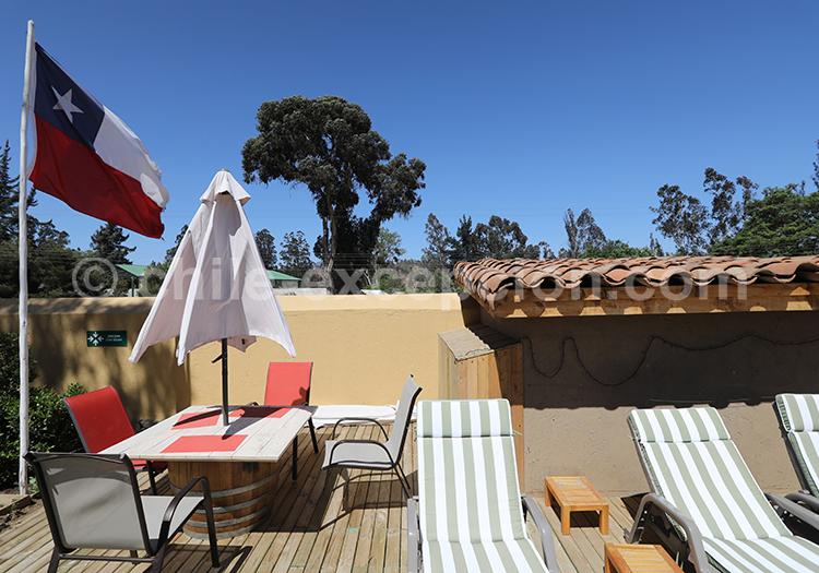 Hôtel du Chili, Hôtel BCW Casablanca dans les vignes de la région centre du Chili