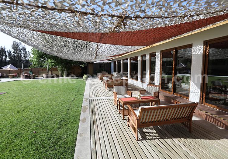 Bel hôtel avec piscine au Chili sur la route des vins, Valparaiso