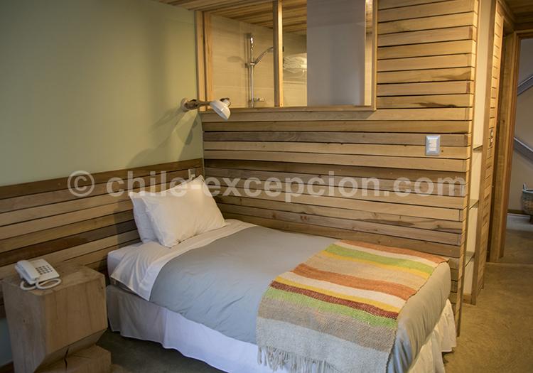 Les chambre de l'Hôtel Vendaval, Puerto Natales, Chili avec l'agence de voyage Chile Excepción