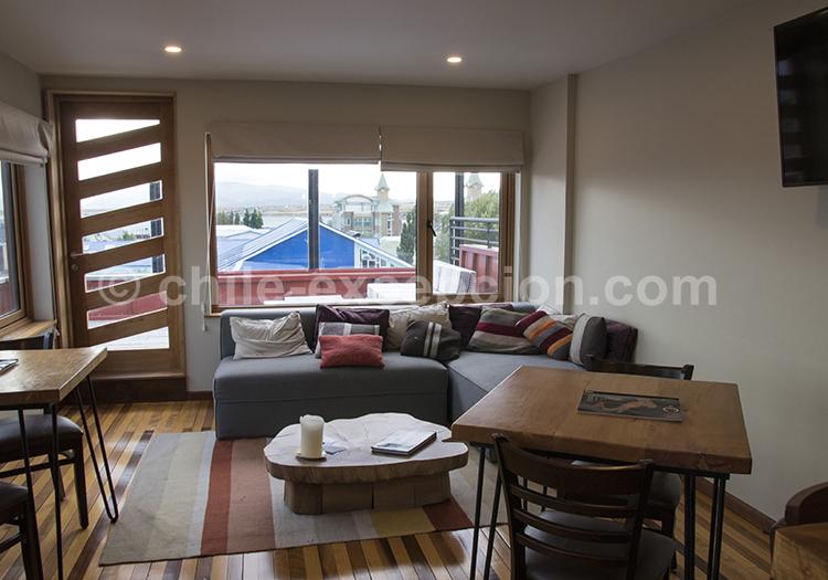 Où dormir à Puerto Natales : L'hôtel Vendaval, Chili avec l'agence de voyage Chile Excepción
