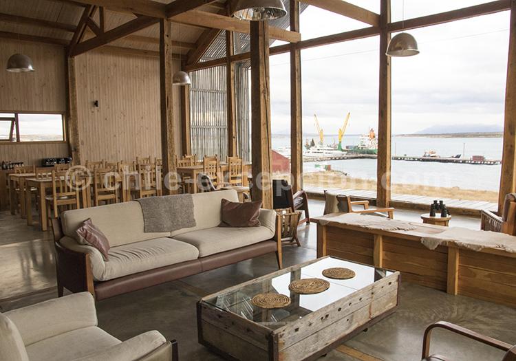 Voir l'hôtel boutique Simple Patagonia, Puerto Natales, Chili avec l'agence de voyage Chile Excepción