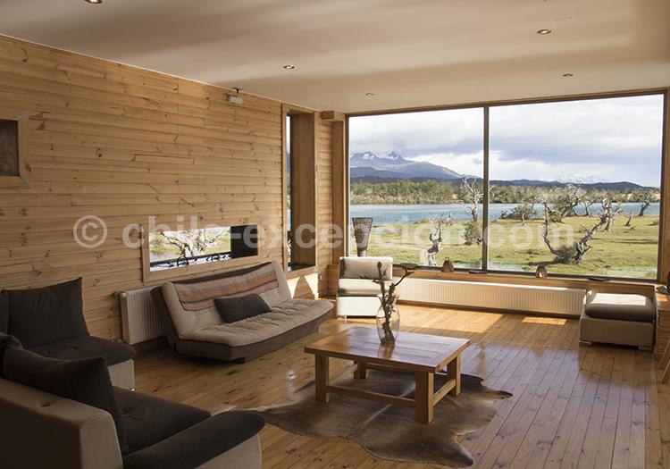 Les chambres de l'Hôtel Pampa lodge, Torres del Paine, Chili avec l'agence de voyage Chile Excepción
