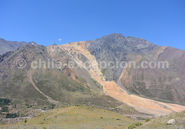 Monument naturel El Morado, Chili avec l