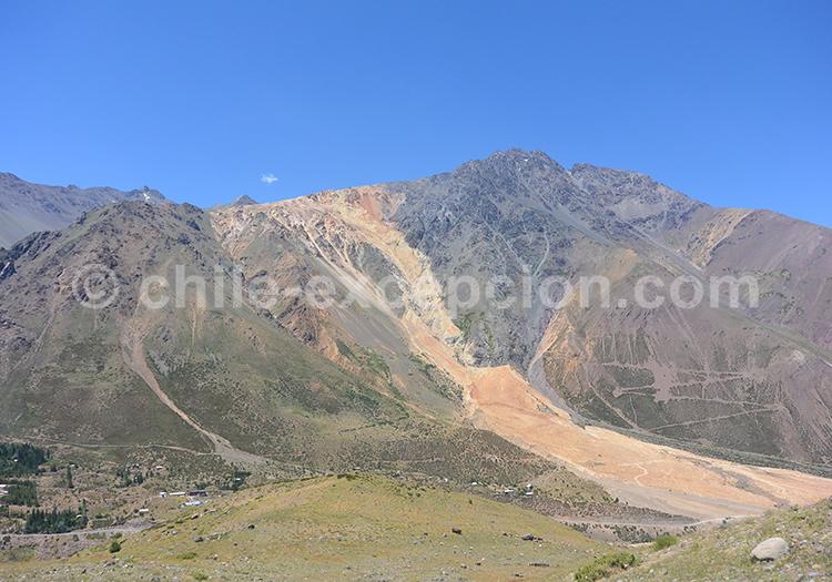 Monument naturel El Morado, Chili