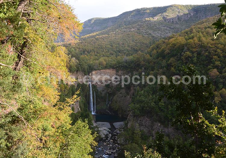 Parc Radal Siete Tazas et parc Inglés, Chili avec l