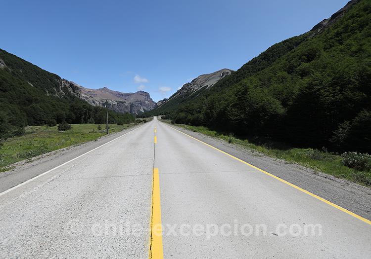 Ruta 7, Patagonie australe, parc national Cerro Castillo