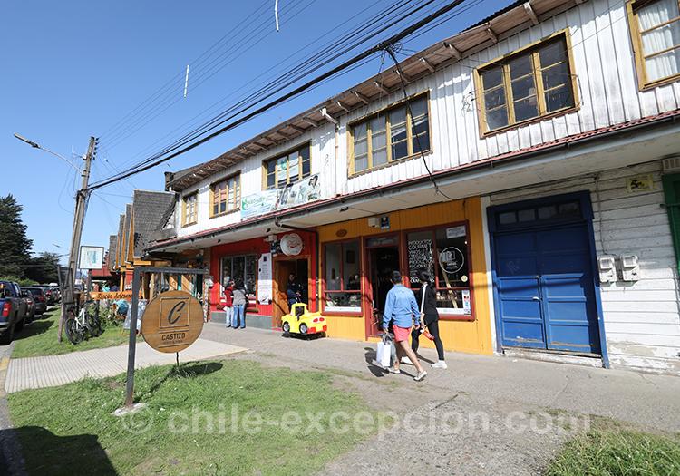 Shopping de Puerto Aysén au Chili