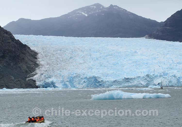 Visiter les glaciers du lac San Rafael, Chili