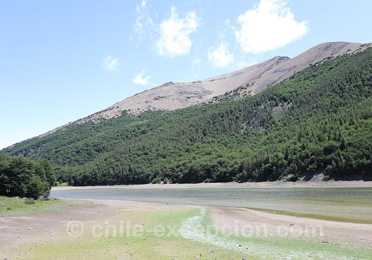 Lagune Chiguay, Patagonie australe, Chili