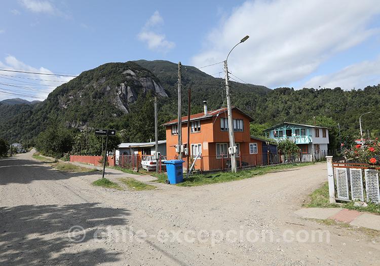 Les maisons de Puerto Chacabuco, Chili