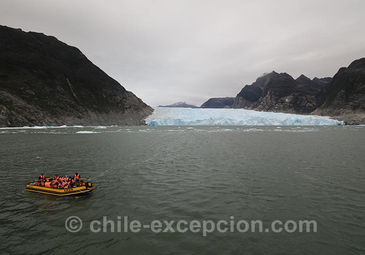 Que voir dans la Patagonie australe au Chili, lac San Rafael
