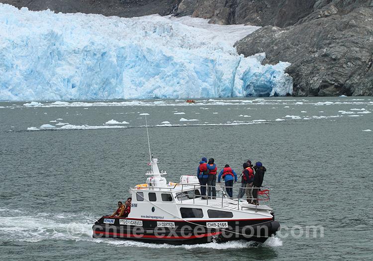 Comment voir les glaciers sur le lac San Rafael au Chili