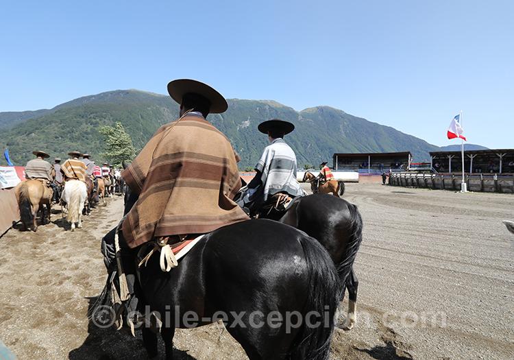 Les huasos sont ils les gaucho du Chili
