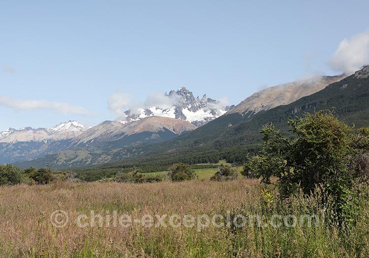 Vue sur le Cerro Castillo, Chili