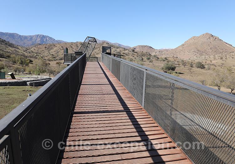 Aller au Mirador Interprétatif de la bataille de Chacabuco, Chili