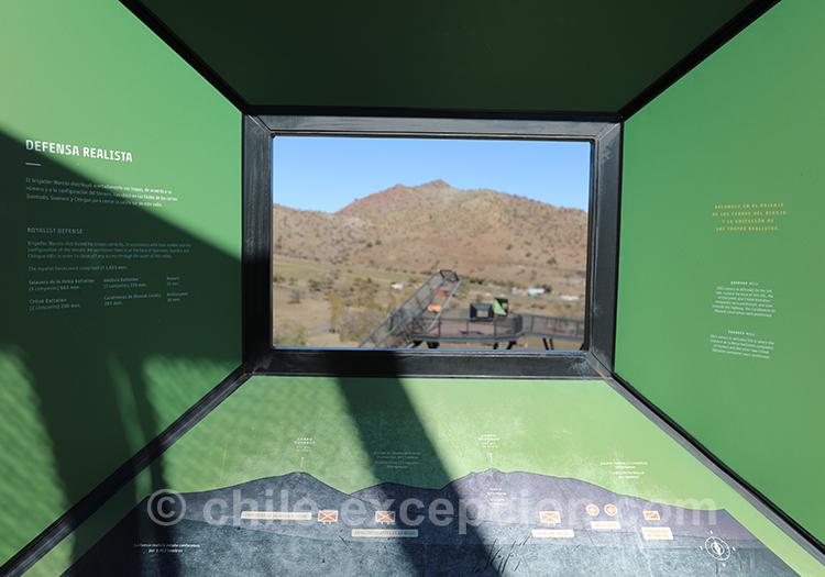Lieu de la bataille de Chacabuco, Chili