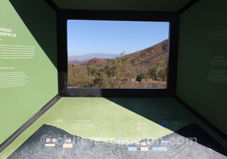 Paysage de la bataille de Chacabuco