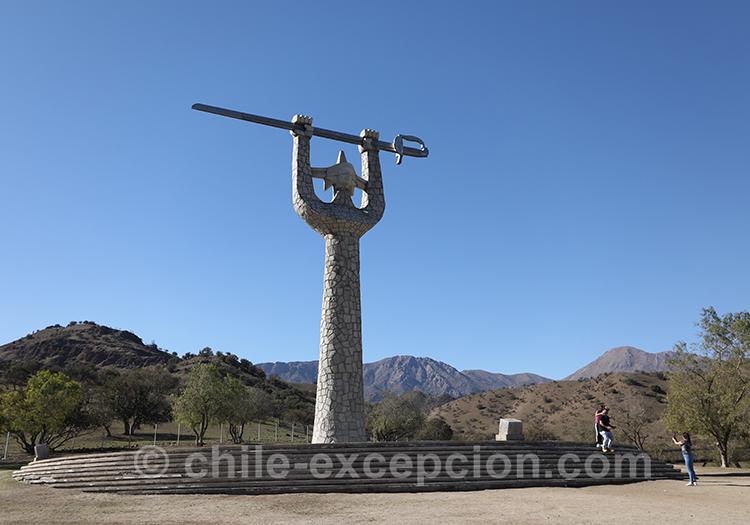 Monument du Mirador Interprétatif de la bataille de Chacabuco, Chili