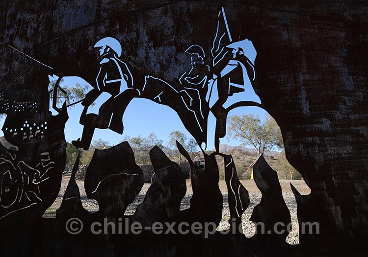 Soldats de la bataille de Chacabuco, Chili