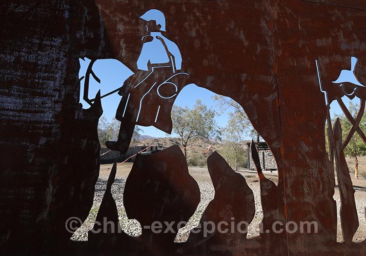 Soldat à Chacabuco lors de la bataille, Chili