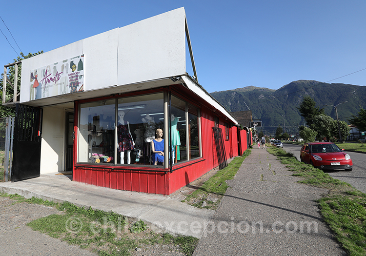 Petite boutique de Puerto Aysen, Chili