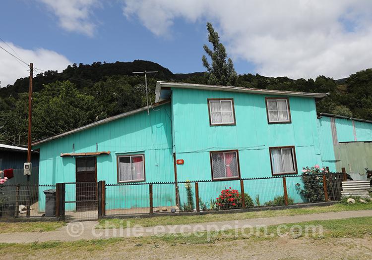 Habitations de Puerto Chacabuco, Chili