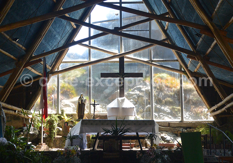 Eglise de la station balnéaire Pichidangui, Chili