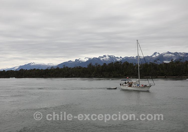 Canal San Rafael, Patagonie australe, Chili