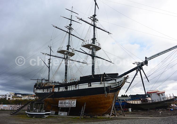 Musée Nao Victoria, voyage à Punta Arenas, Chili